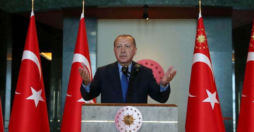 Il presidente turco Recep Tayyp Erdogan (Reuters)
