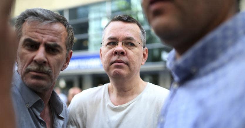 Il pastore evangelico americano Andrew Brunson, detenuto in Turchia da un anno e mezzo con l'accusa di terrorismo e spionaggio  (Ap)