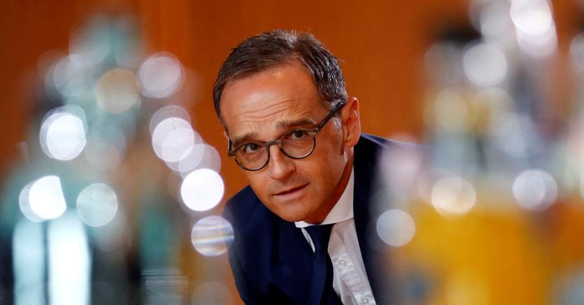 Il ministro degli esteri tedesco Heiko Maas (Reuters)