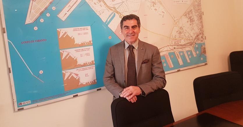 Vincenzo Cesareo, presidente diConfindustria Taranto, molto severo con la posizione del ministroDi Maio