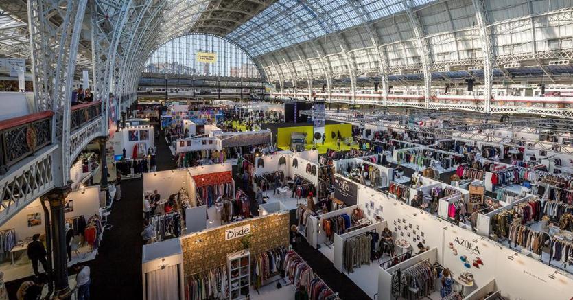 La fiera di moda «Pure London», che si svolge a Londra