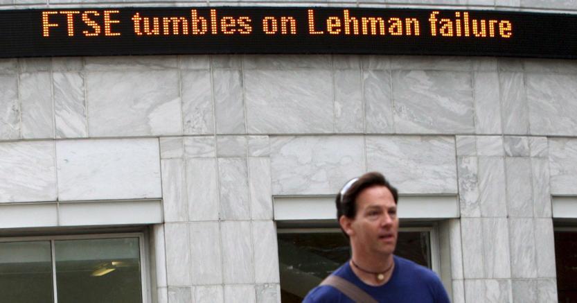A 10 anni da Lehman (Ansa)