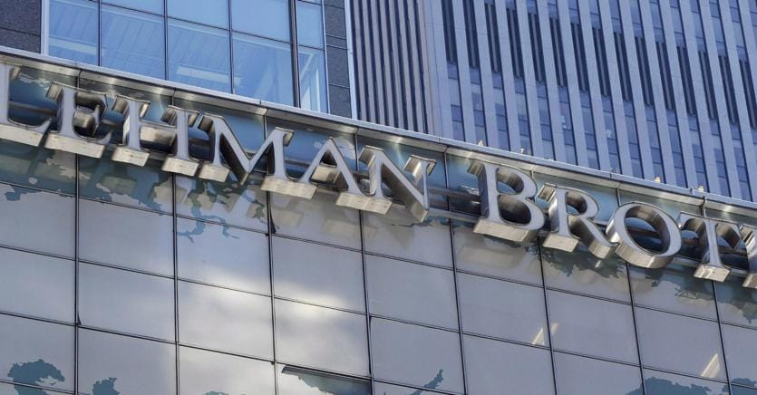 I rischi a 10 anni da Lehman (Epa)