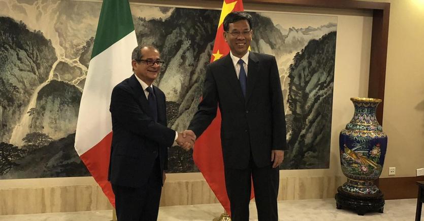 Dalla Cina Tria continua a rassicurare sulla solidità dell'Italia