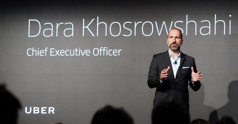 Dara Khosrowshahi, ceo di Uber (Reuters)