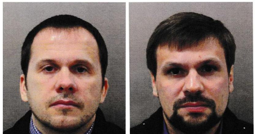 : Alexander Petrov e Ruslan Boshirov