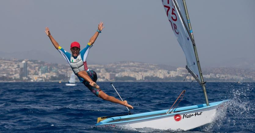 Marco Gradoni  (credit Matias Capizzano - Optimist World Championship 2018)