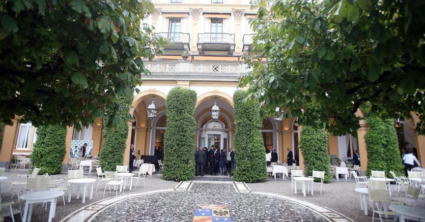 Villa d'Este a Cernobbio  (Como) dove è in corso il forum organizzato da The European House - Ambrosetti