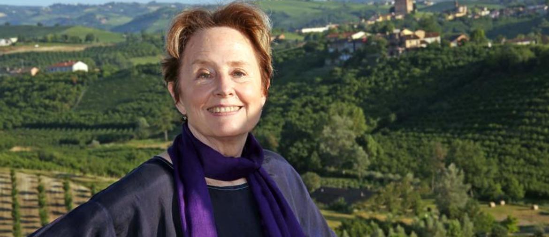 Alice Waters. Scrittrice,  pioniera del cibo bio e autrice del progetto degli orti didattici a Berkeley