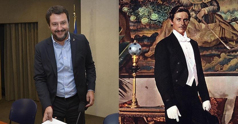 Matteo Salvini e Tancredi, il personaggio letterario del Gattopardo di Tomasi di Lampedusa