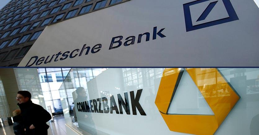 Risultati immagini per commerzbank deutsche bank