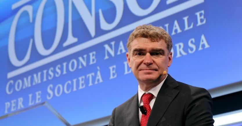 Mario Nava, presidente di Consob (Ansa)
