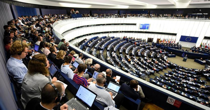 L'Europarlamento riunito in plenaria a Strasburgo