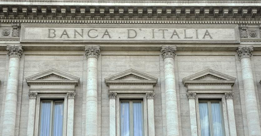 Palazzo Koch sede della Banca D'Italia (Agf)
