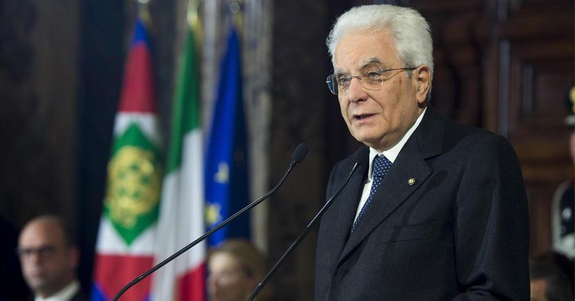 Il presidente della Repubblica Sergio Mattarella  difende la stampa libera (Ansa)