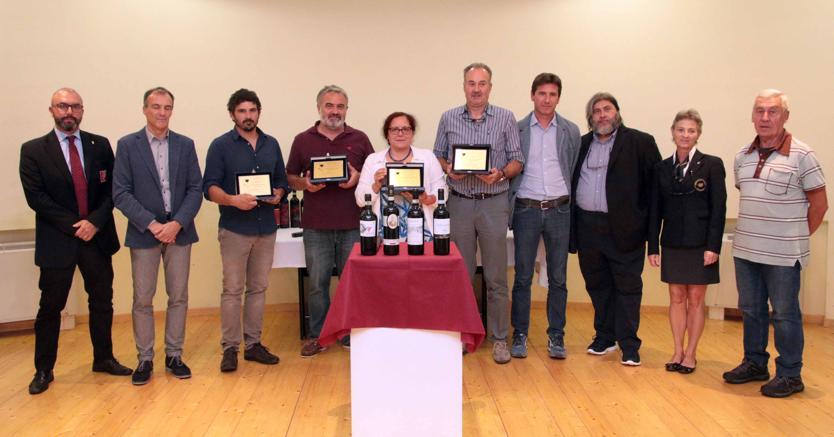 La premiazione (foto Luca Gianatti)