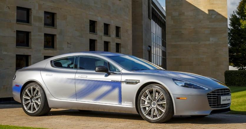 La Futura Aston Martin Elettrica Rapid E Sara Gommata Pirelli Il