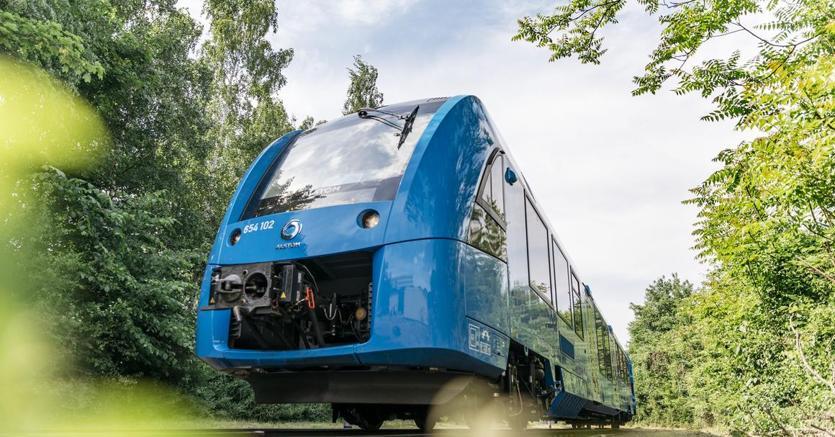 In Germania viaggio ok per il primo treno ad idrogeno nel mondo