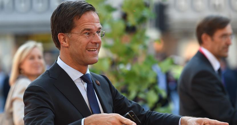 Il premier olandese Mark Rutte (AFP)