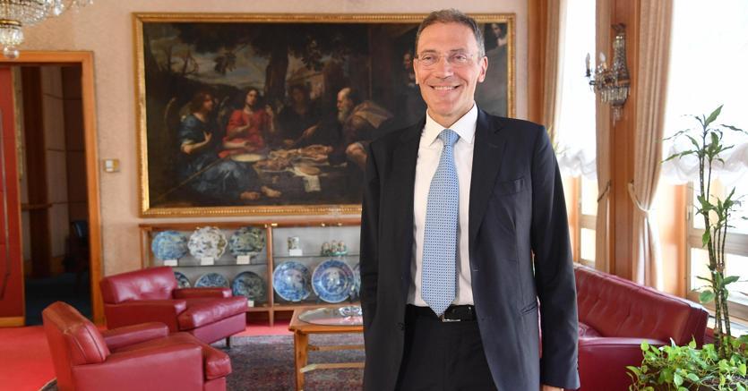 L'amministratore delegato di Banca Carige, Fabio Innocenzi (ANSA)
