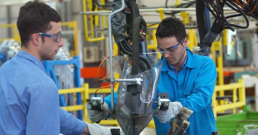 Nei primi sei mesi 2018, la produzione metalmeccanica ha registrato un incremento del 4,6% rispetto al 2017 ma i volumi realizzati risultano ancora inferiori del 22,1% rispetto al periodo pre-recessivo (1° trimestre del 2008). Foto Agf