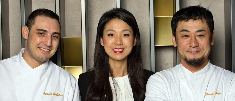 Paolucci, Giulia Liu e Koga