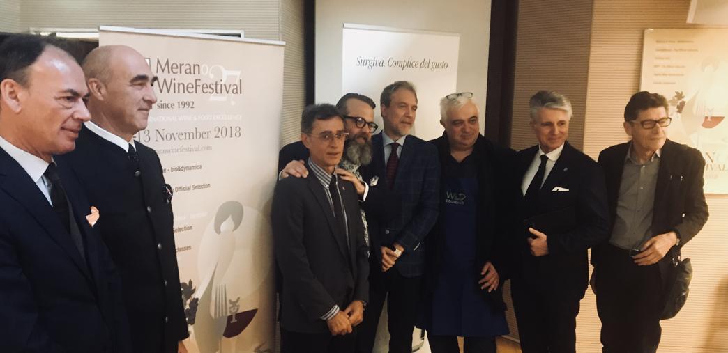 Da sx:  Fabio Bacchi, Helmuth Köcher, Dante Del Vecchio, Francesco Fadda, Carlo Alberto Panont, Angelo Carrillo, Alessandro Scorsone, Luigi Cremona