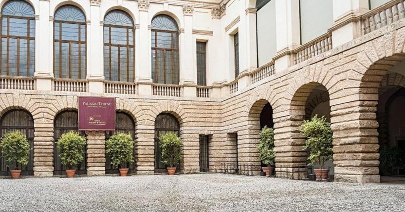 Immobile storico.Palazzo Thiene a Vicenza