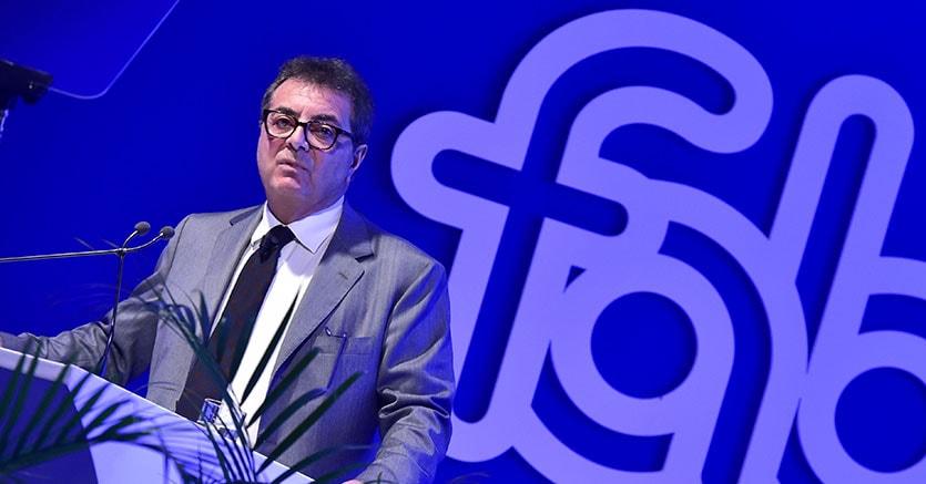 Il segretario generale della Fabi, Lando Maria Sileoni (Imagoeconomica)