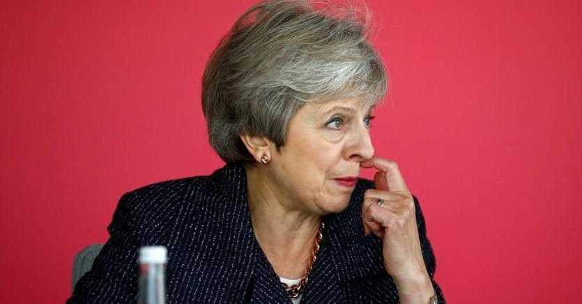 Il premier britannico Theresa May sarebbe vicina a un accordo con la Ue sulla Brexit (Afp)