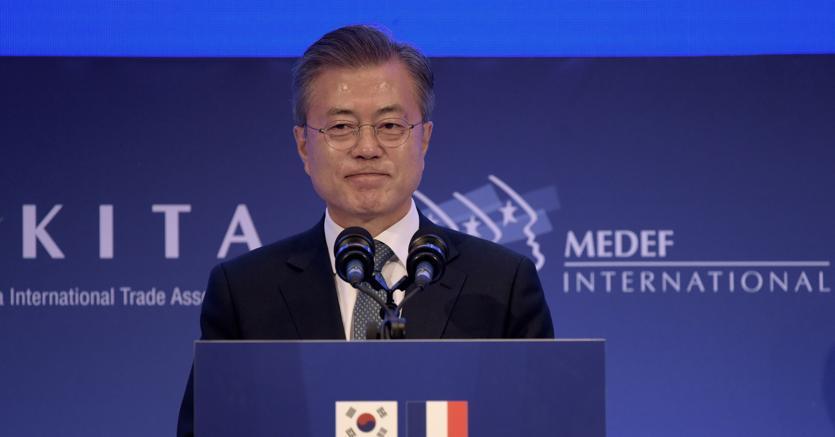 Corea il presidente moon a roma porta al papa l invito di - Porta portese lavoro roma segretaria ...
