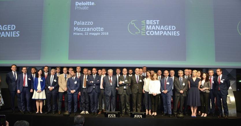 I premiati alla prima edizione diDeloitte Best Managed Companies