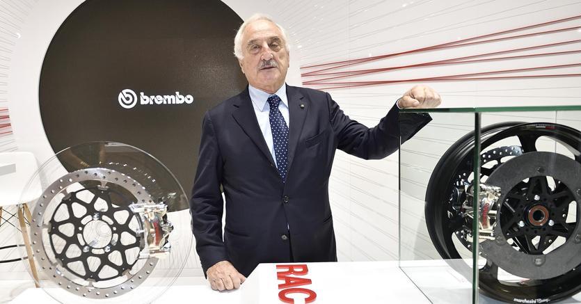 Il presidente di Brembo, Alberto Bombassei (Ansa)