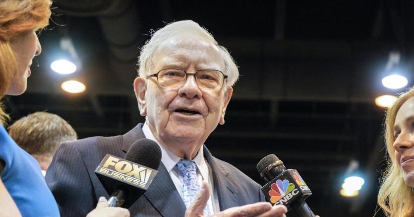 Warren Buffett, entrato con il  9% del capitale in Cattolica Assicurazioni (Foto Ansa)