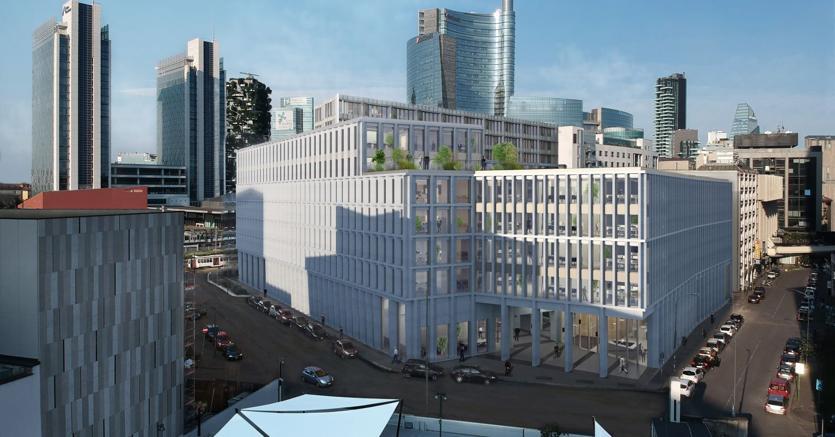 Spazi verdi e uffici smart a milano porta nuova arriva for Uffici a milano