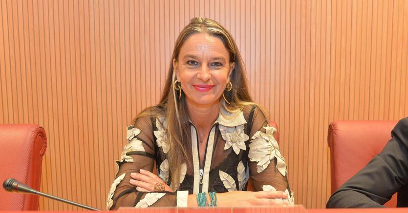 La senatrice leghista Stefania Pucciarelli