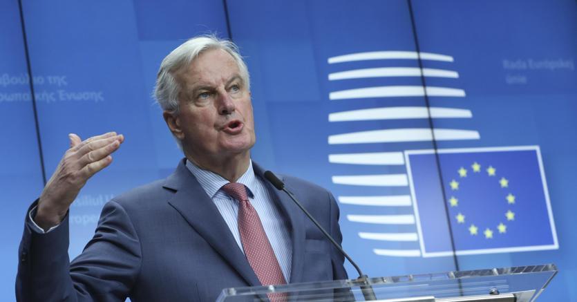 Il capo dei negoziatori Ue Michel Barnier