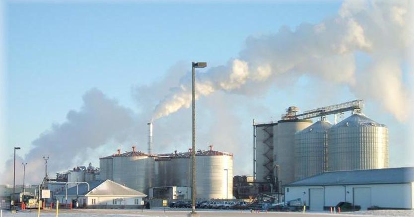 Un impianto a biomassa