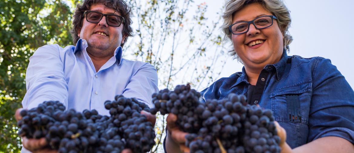 Beppe e Raffaella Bologna, terza generazione di Braida a Rocchetta Tanaro