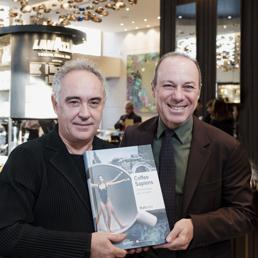 Giuseppe Lavazza e Ferran Adrià
