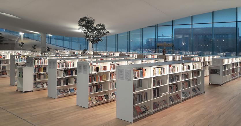 Helsinki la biblioteca del futuro affida il libro al made in italy