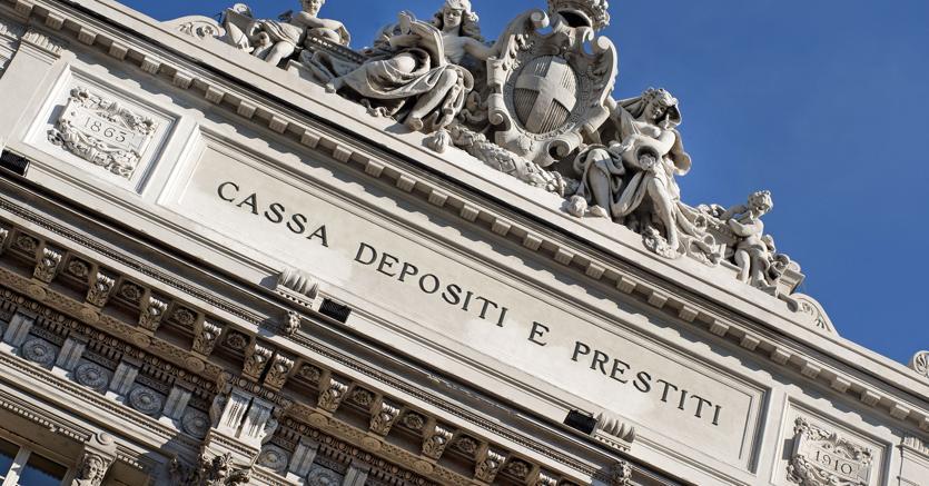 La sede della Cassa depositi e prestiti a Roma