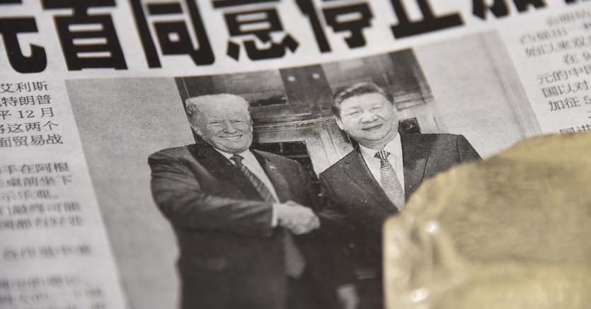 Donald Trump e Xi Jinping (Afp)