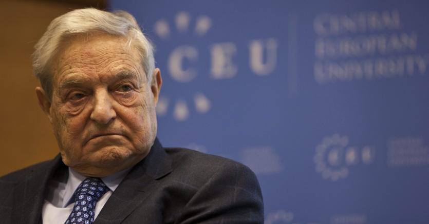 Il finanziere George Soros (Epa)