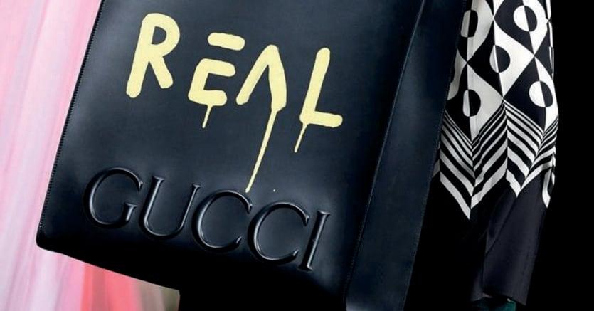 Lotta ai falsi. Il progetto di Gucci con l'artista Trouble Andrew lanciato nel 2016
