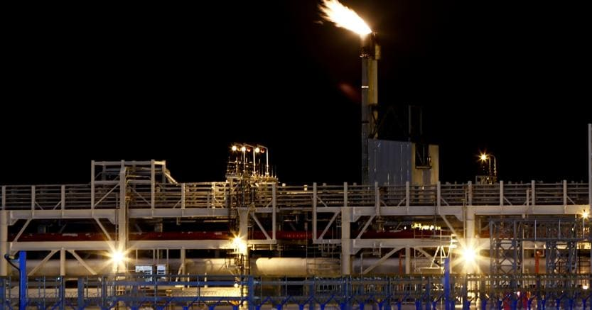 L'impianto della Yamal Lng a Sabetta (Afp)