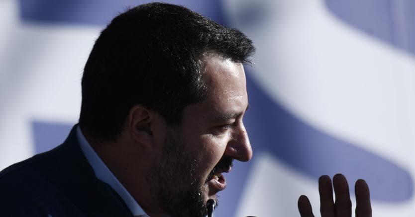 """In un'intervista al Washington Post, a luglio il leader leghista aveva dichiarato di essere favorevole al riconoscimento di Israele come capitale dello Stato d'Israele, """"strappando"""" con la linea di politica estera classica dell'Italia di  paese mediatore super partes (foto Afp)"""
