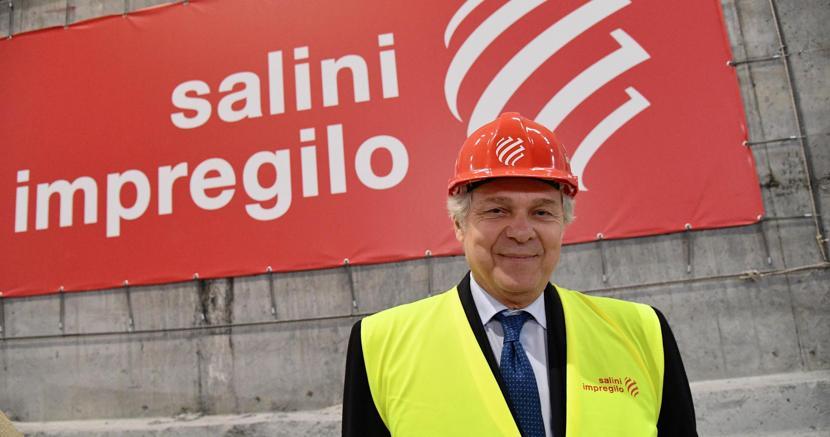 L'amministratore delegato di Salini Impregilo, Pietro Salini (Ansa)