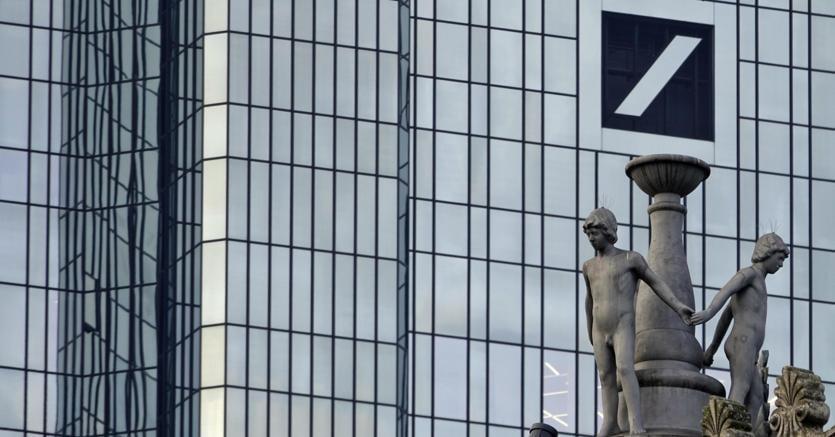 Sede della Deutsche Bank a Francoforte. (EPA/Mauritz Antin)