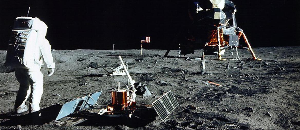 Luglio 1969. Lo sbarco del primo uomo sulla Luna (Reuters)